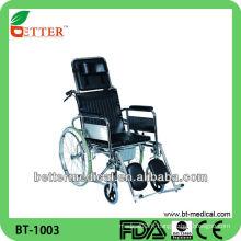 Chaise en chaise en aluminium