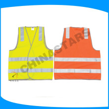 highly welcomed oem high vis reflective safety vest fabric printed