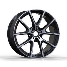 Matt Black Polished BMW Replica Wheel