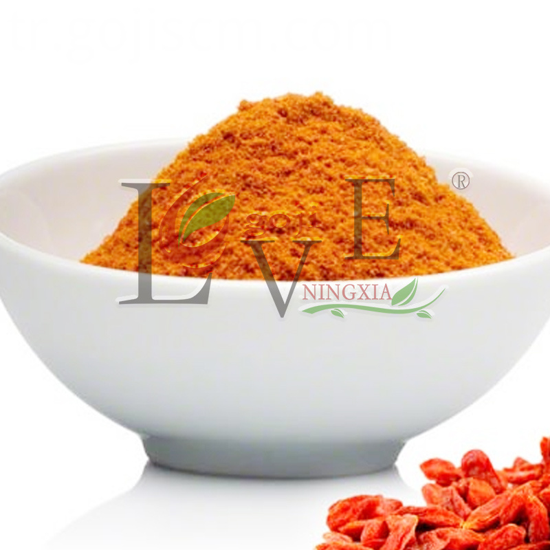Fresh Organic Goji Berry Powder for eyes