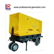 Mobile Trailer Type Generator 120kVA for Mining Company
