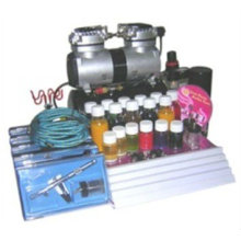 2016 hot sale free deluxe airbrush tattoo kits