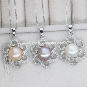 High Quality Natural Freshwater Pearl Pendant Necklace