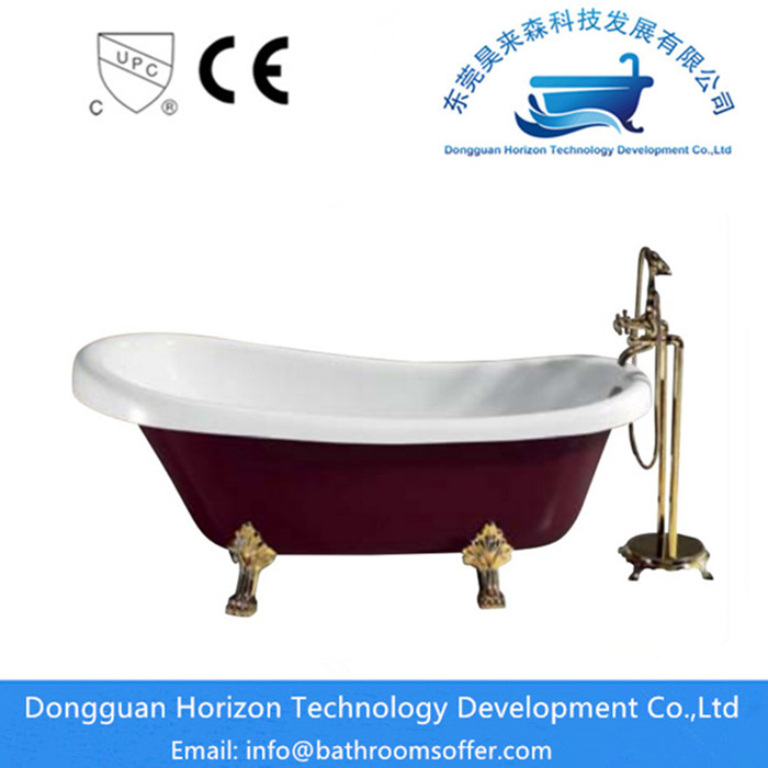 small freestanding bath