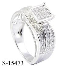 Neuer Entwurf 925 Sterlingsilber-Ring-Diamant-Schmucksachen
