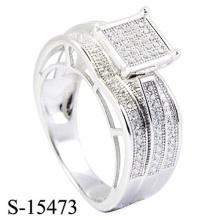 Novo Design 925 Sterling Silver Ring Diamond Jewelry