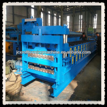 JCX840&900-B1, Glazed tile and IBR double-layer roof metal sheet roll forming machine