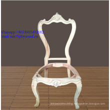 European carving  wood  chair frames wholesale french louis style wooden design antique dining chair frame