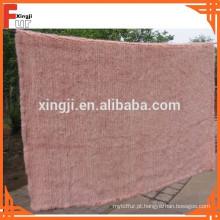 Manta de pele tecido mink fur throw