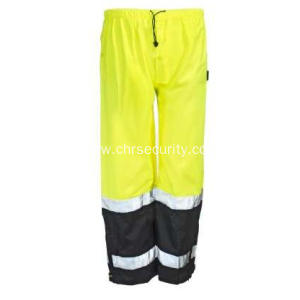 Waterproof Hi Vis Yellow Men's Pants