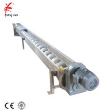 Flexible coal hopper auger screw conveyor
