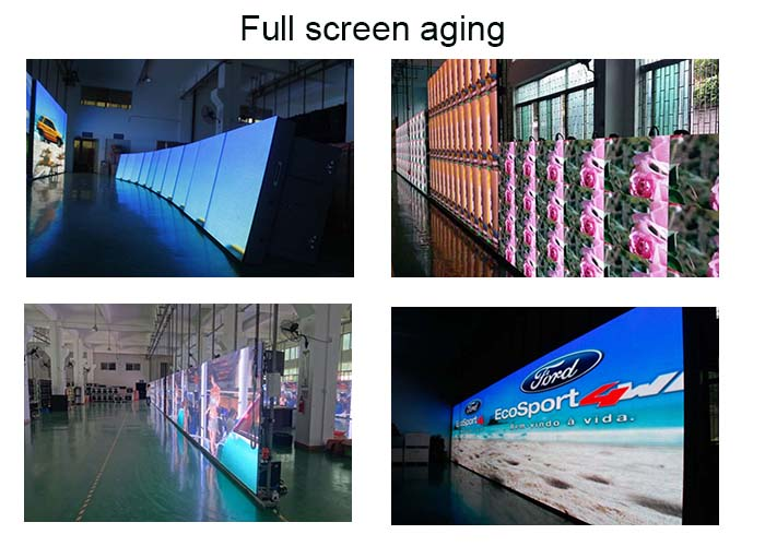 high gray scale slim lightweight led screen