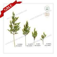 Hot Sell Craft Green Pine Branches pour l'intérieur pour le jardin à la maison