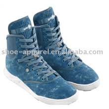 Zapatos de lona de color denim