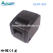 OCPP-80Y 200mm/s cheap 80mm USB POS thermal receipt printer with auto cutter