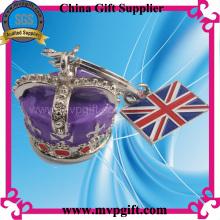 3D Crown Metal Keychain Gift