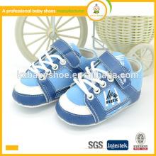 Los zapatos de bebé recién nacidos del deporte del e-crédito de los surtidores calientes del precio bajo de la alta calidad de la venta