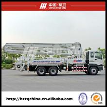 Camions-pompes à béton avec pompe d'alimentation en béton