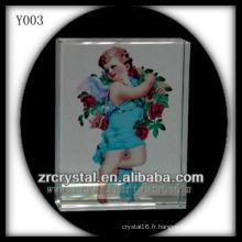 Imprimé coloré en cristal religieuxPortrait Y003