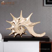 Custom resina morden sculpture room decor embellishment art