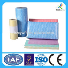 Toalhetes de limpeza não tecidos descartáveis do agregado familiar de pano de limpeza