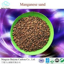 prix concurrentiel fob de minerai de manganèse pour enlever le minerai de fer et de manganes