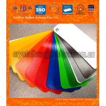 Waterproof Canvas Polyester PVC Coated Fabric