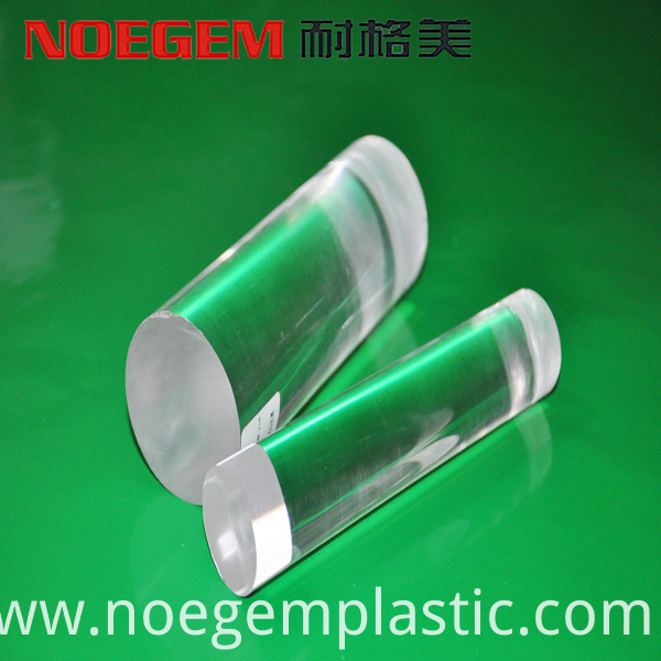 Transparent Acrylic Plastic Rod