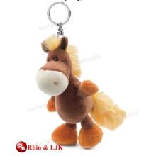 High quality custom plush toy keychain