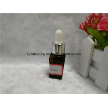 10ml Brown Essential Oil Bottle with White Dropper (EOB-16)