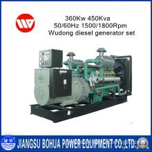 Durability & Reliability 450kVA Wudong Diesel Generators for Sale