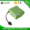 ni-mh AA 9.6V 1500mah Rechargeable Batteries Pack
