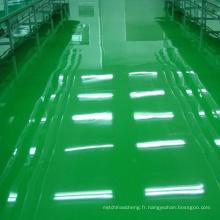 Revêtement époxyde de plancher de résine époxyde d'hôpital de plancher de résine abrasive