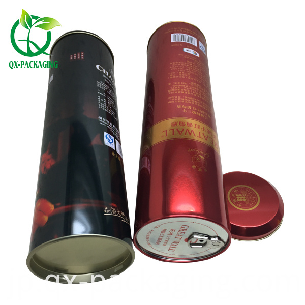 D95 H350mm Tin Box For Wine