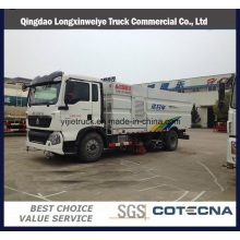 Camión de barrido de carretera de aspiración HOWO T5g 3-15cbm