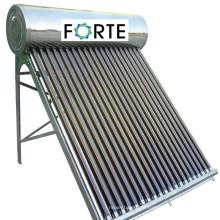 Kompakter 200L V-Schutz-Solarwarmwasserbereiter in Indien