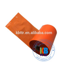 Vinyl label thermal printing  110*600 orange color TTR thermal transfer ribbon