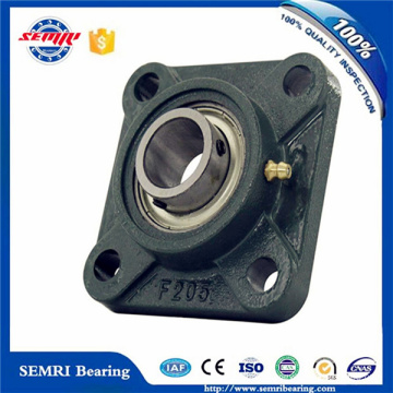 Square Bearing Block 4 Bolt Flange Bearing Housing (F208)