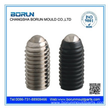 Ball spring plunger for mould
