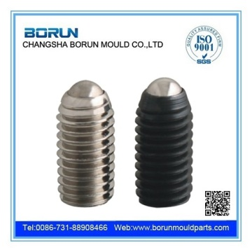 threaded fastener stainless steel ball spring plungers