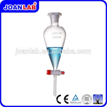 JOAN LAB Pyrex Glass Separatory Funnel With PTFE Stopcock
