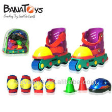 908060001 Funny sapato de patinação para crianças com acessórios