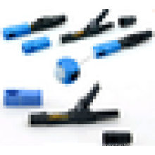 SC / UPC SC / APC fibra óptica SC conector rápido FTTH fibra óptica rápida conector 10pcs / paquete