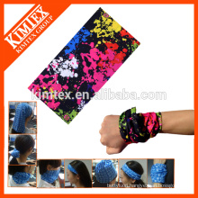 Knitted tube seamless multifunctional hair accessory