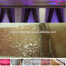 Many colors sequin table runner