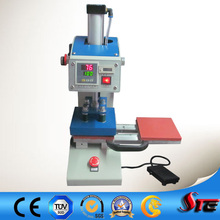 Twin Station Heat Press Machine for Logo Sticker