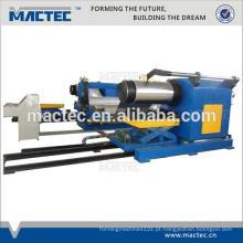 Máquina de gravação de couro hidráulico de alta velocidade