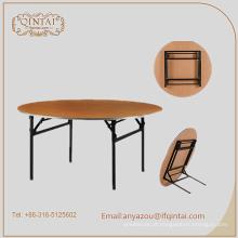 alta qualidade dobrável jantar mesa de madeira mesa de banquete