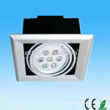 High quality hot sell aluminum iron cover 7w electric grill light housing