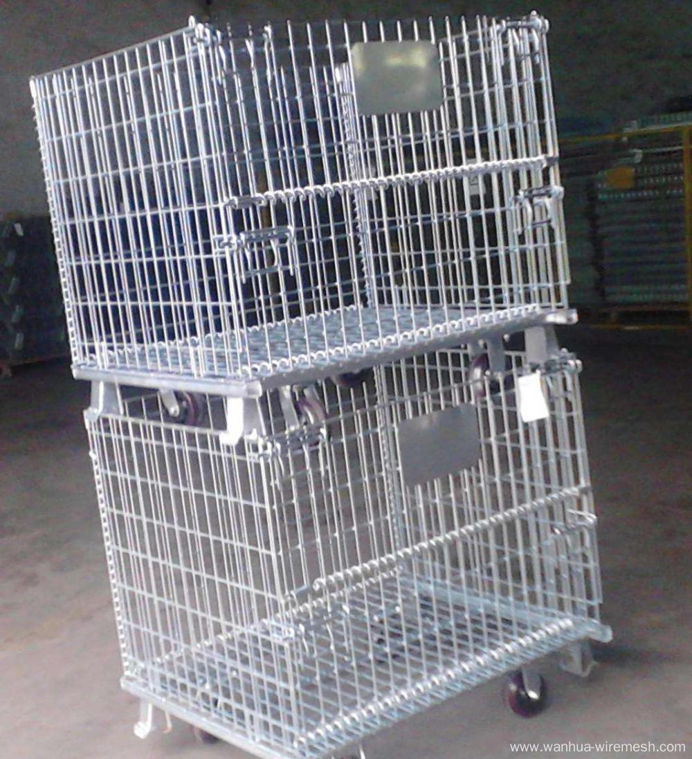 Mobile Wire Mesh Container